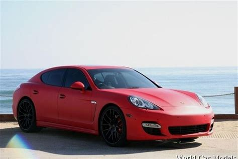 porsche matte red porsche panamera wrapped in mate red ezie wraps best