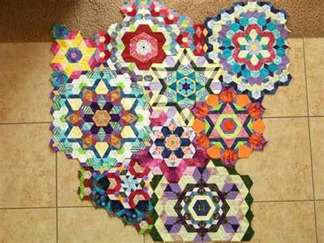 hexagon quilt  images hexagon quilt quilts hexagon