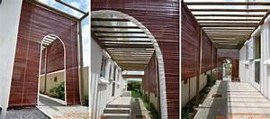 Store Bois Exterieur : store raphia de terrasse mauricien d 39 ext rieur pose ~ Premium-room.com Idées de Décoration