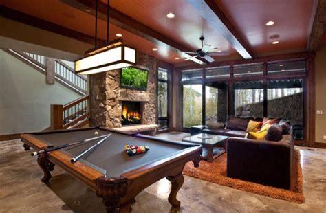 pool table room decor billiard table in living room decor