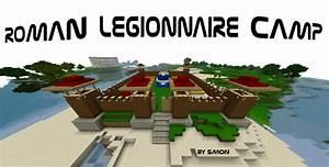 Roman Legionnaire Camp Schematic Minecraft Project