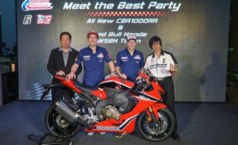 Honda World Superbike Team Previews Round 2, In Thailand