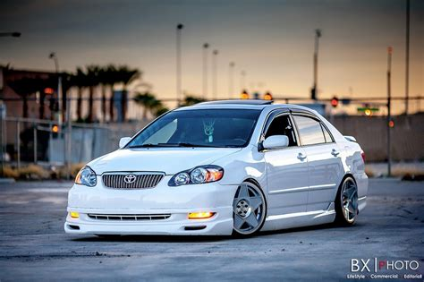 stanced toyota grandma s stanced toyota corolla really stands out the