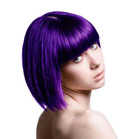 couleur cheveux violet fonce