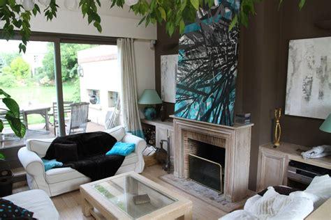 tapis cuisine deco salon noir blanc et