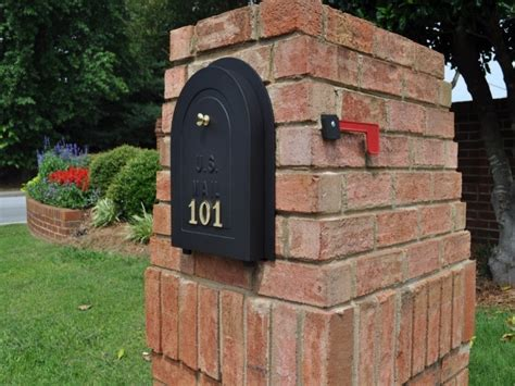 How To Draw Brick Mailbox Designs — The Wooden Houses