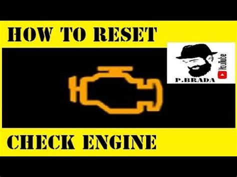 how to reset check engine light how to check your check engine light and other obd2 f