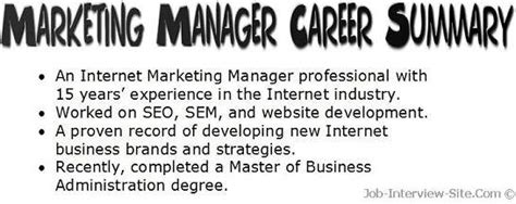 resume summary examples thatll give   ideas