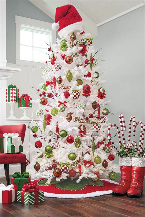 Ideas Decorating White Tree by Tree Decorations Decor