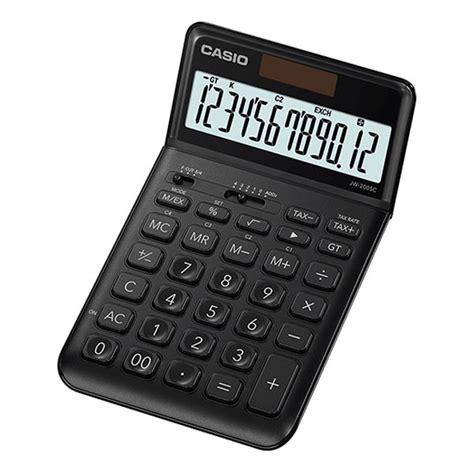 calculatrice de bureau casio jw 200sc noir calculatrice casio sur ldlc com