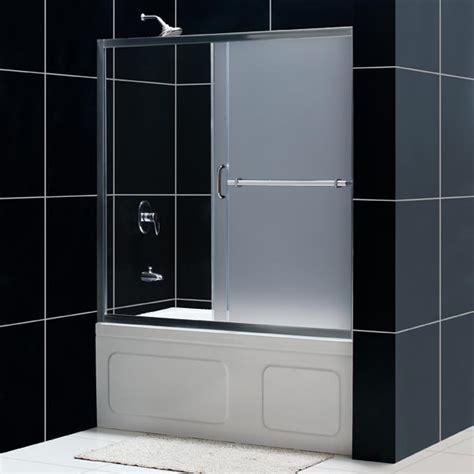 bathtub sliding doors infinity plus sliding tub door glass tub door from