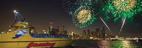 Navy Pier Boat Cruise by Fireworks Sightseeing Cruises At Navy Pier Seadog Cruises