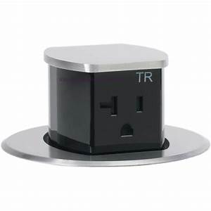 Countertop 2 Sided Spill Proof Pop Up 20a Outlet Surface