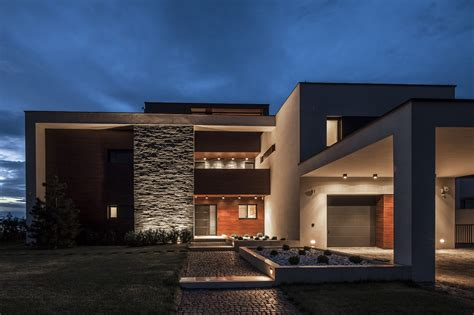 world of architecture lake side duplex house by toth project hungary