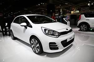 Hyundai I20 Blanche : la kia rio s 39 offre un restylage pour le mondial de l 39 automobile l 39 argus ~ Gottalentnigeria.com Avis de Voitures