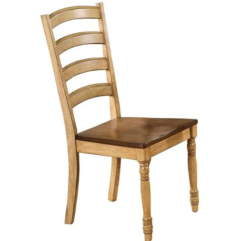 almond  wheat ladder  country dining room chair