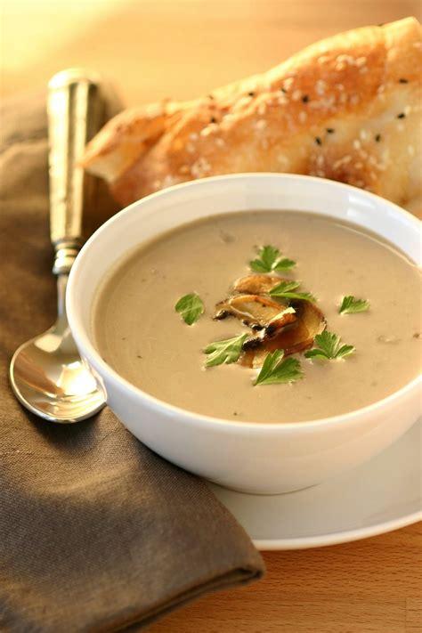 vegan cream  mushroom soup lands flavors