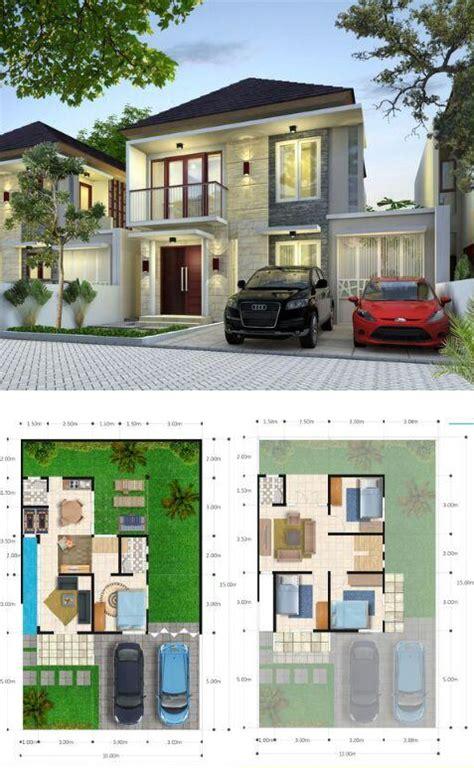 trend denah rumah luas tanah   denah minimalis