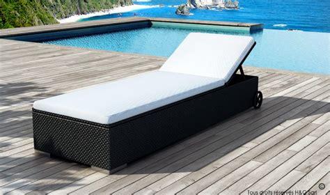 achat bain de soleil en r 233 sine tress 233 e lit de piscine en
