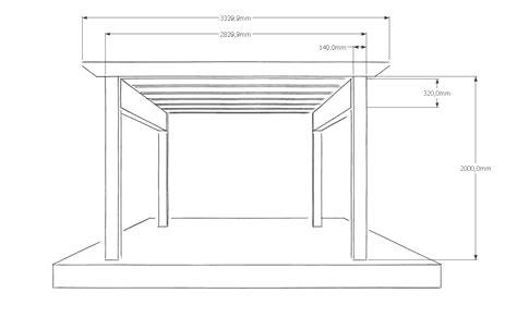 Carport Plan by In 6 Schritte Ein Carport Selber Bauen 183 Baubeaver