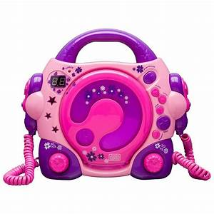 Cd Player Für Mädchen : bigben cd player f r kinder mit 2 mikrofonen rosa lila online kaufen otto ~ Orissabook.com Haus und Dekorationen