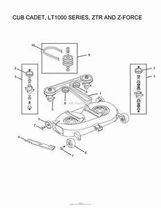 Oregon Cub Cadet Parts Diagram For Cub Cadet  Lt1000