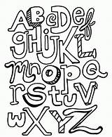 Coloring Alphabet Pages Printable Letter Pdf sketch template