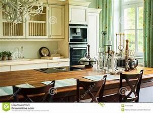 Cuisine Style Ancien : nouvelle cuisine moderne dans le style ancien image stock image 47041633 ~ Teatrodelosmanantiales.com Idées de Décoration