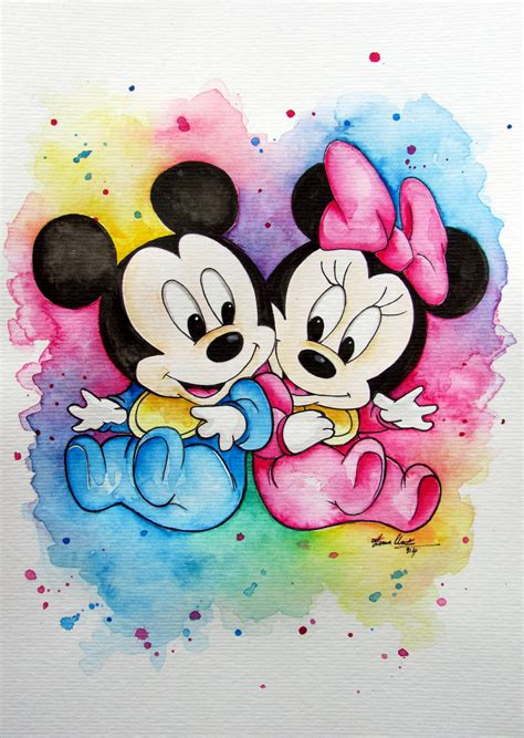 chambre minnie mouse baby minnie and mickey childrens fiona clarke com