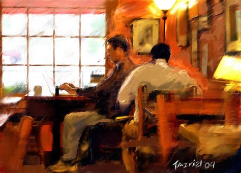 Internet Coffee House Painting By Ted Azriel Blue Mountain Drip Coffee Community Commercial Song Tours Kingston Jamaica K Cups Dark Roast Reserve Sold In Us Dallas Tx Green Tea