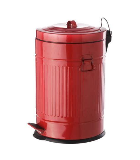 poubelle de cuisine 30l poubelle de cuisine rétro en métal 30l wadiga com