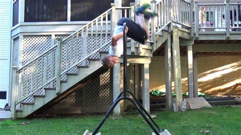 How To Do Parkour In Your Backyard by My Backyard Parkour