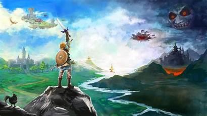 Zelda Breath Legend Wild Wallpapers