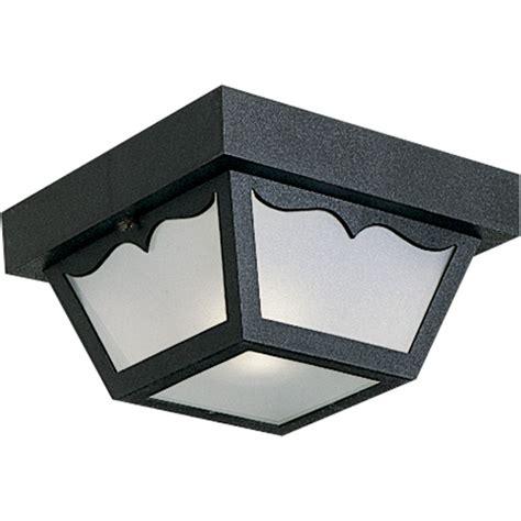 single bulb flush mount light progress lighting p5744 31 black ceiling mount series 8 1