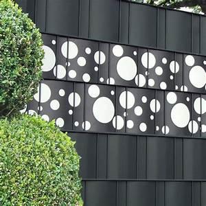 Sichtschutzstreifen Zum Einflechten : sichtschutzz une mit design sichtschutzstreifen von m tec ~ Michelbontemps.com Haus und Dekorationen