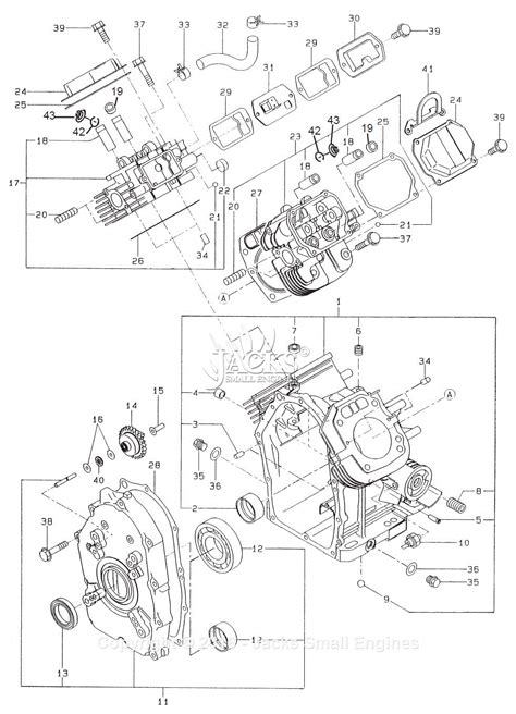Subaru Robin Engine Parts Diagram Auto