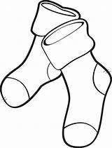 Socks Sock Coloring Printable Drawing Stockings Pair Sheets Template Getcolorings Technical Getdrawings Rugrats Paper Templates Clipartmag Mpmschoolsupplies sketch template
