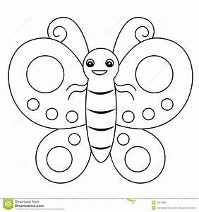 Butterfly Lineart Stock Photos - Image: 14572083
