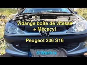 Vidange 206 : vidange boite vitesse 206 s16 youtube ~ Gottalentnigeria.com Avis de Voitures