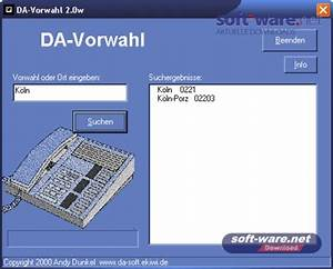 Vorwahl 16 : da vorwahl 2 0 download windows deutsch bei soft ware net ~ Orissabook.com Haus und Dekorationen