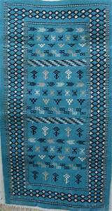 Tapis Berbere Bleu : tapis berb re tunisien tapis tunisien tapis marocain mergoum et kilim tapis artisanal ~ Teatrodelosmanantiales.com Idées de Décoration