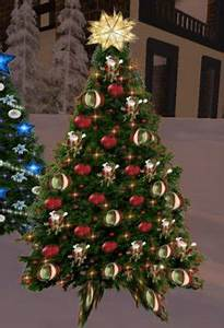 Second Life Marketplace Christmas Tree 61 with