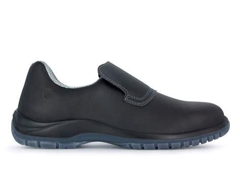 chaussures de cuisine noir avec embout de sécurité dan