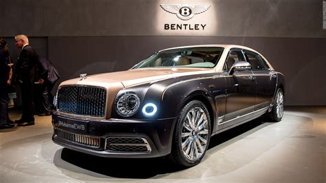 Bentley Mulsanne  Cool Cars From The 2016 Geneva Motor