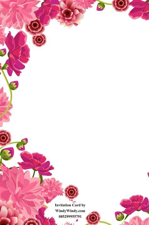 jual undangan pernikahan bunga ungu cantik murah
