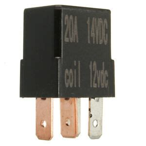 micro relay 4 pin 12v 20a normally open mini 20 car boat marine ebay