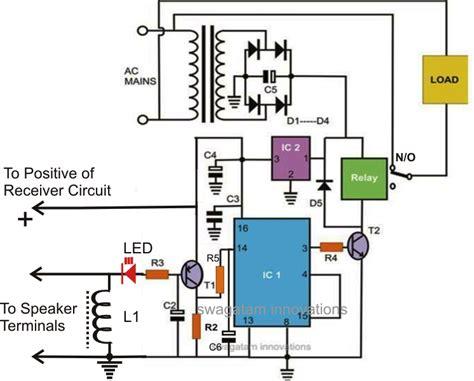 wireless remote control car circuit diagram