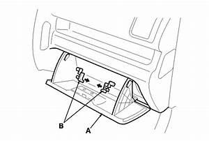 Remove Glovebox Assembly 2007 Honda Odyssey