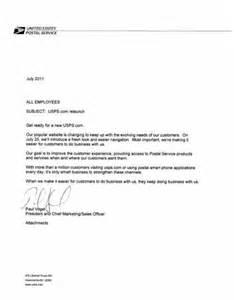 cover letter for usps career sle resume