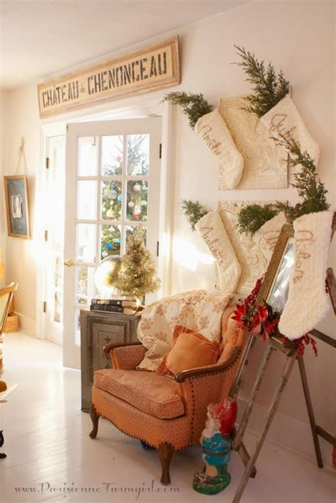 french country christmas  parisienne farmhouse